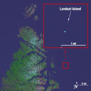 Landsat 8 image of the far northern portion of Labrador