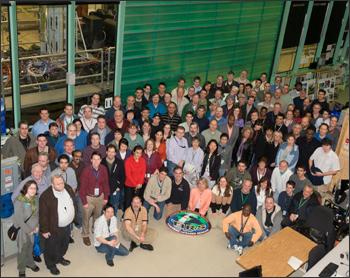 The LDCM thermal instrument engineering team at NASA Goddard Space Flight Center.