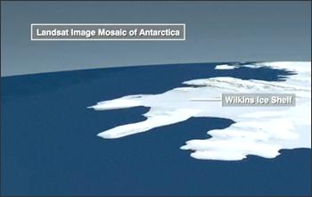 Landsat Image Mosaic of Antarctica