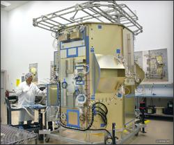 Landsat Data Continuity Mission spacecraft