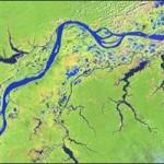 Landsat Image of the Amazon River, Brazil