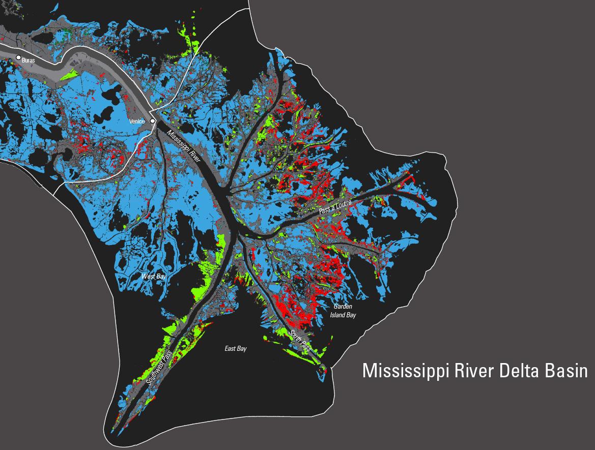 Using Landsat USGS Reports PostKatrina And Rita Land