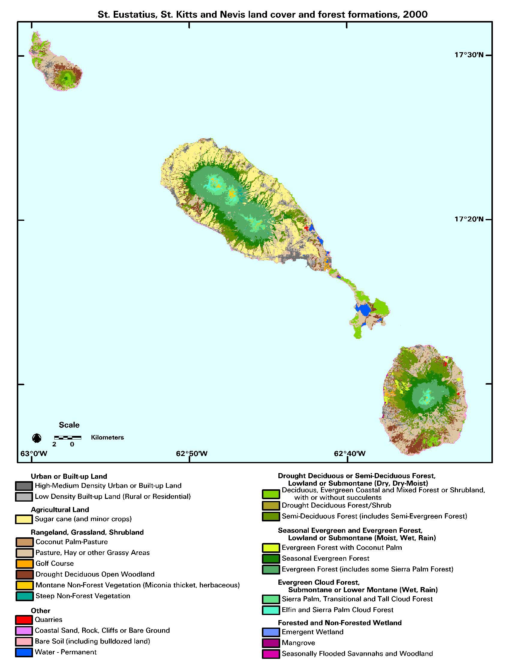 New LandsatBased Maps of Complex Caribbean Islands Reveal