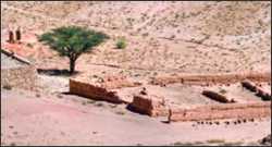 The fragile semi-arid Souss region of Agadir, Morocco