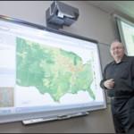 Tom Stepinski showing LandEx