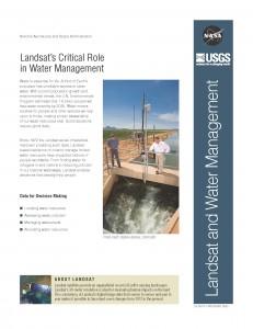 Water Management fact sheet