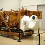 LDCM Satellite Departs Thermal Vacuum Chamber