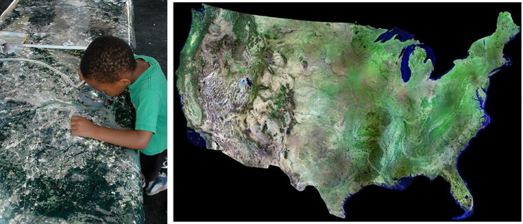 Landsat images