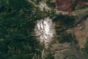 Landsat 8 image of Mount Jefferson