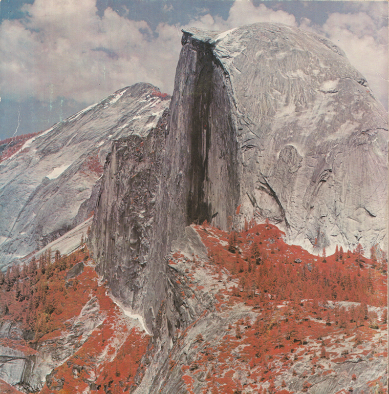 MSS image of Half Dome, May 1972