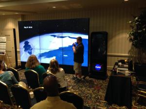 Landsat hyperwall talk