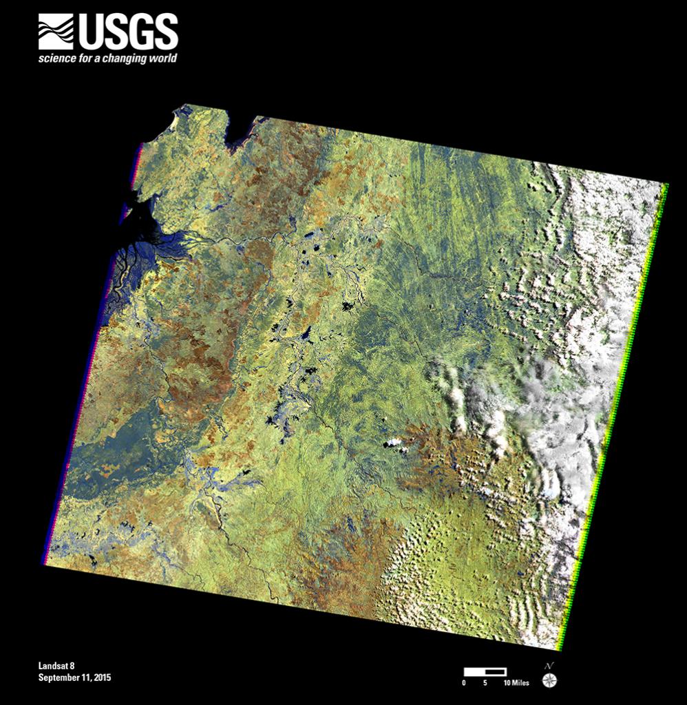 2M Landsat 7 scene