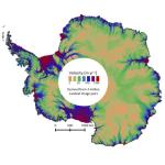 2015 Antarctica velocity map
