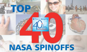 Top 40 NASA Spin-offs