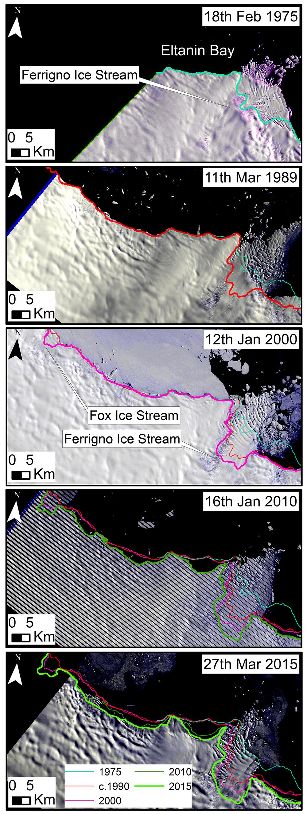 Ferrigno Ice Stream