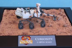 Mackowski's model Curiosity Mars Rover.