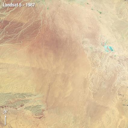 Landsat 5 Saudi Arabia