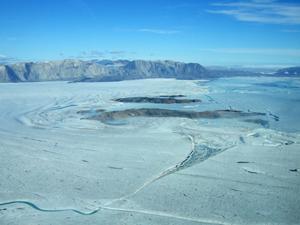 outlet glacier