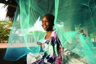 Potou Niayam, Senegal, Africa Olyset net