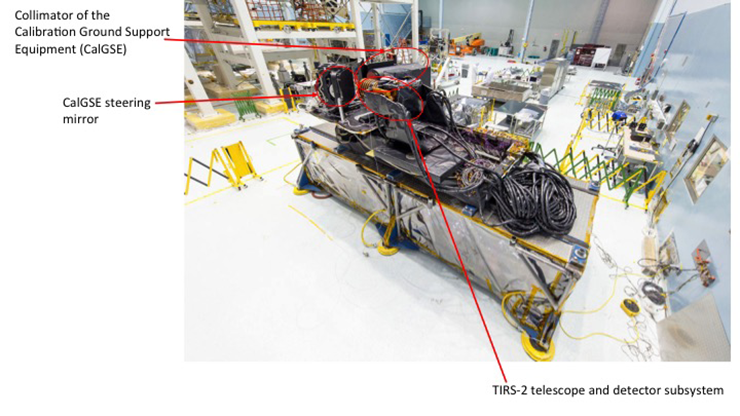TIRS-2 telescope testing