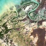 Flinders River estuary at low tide