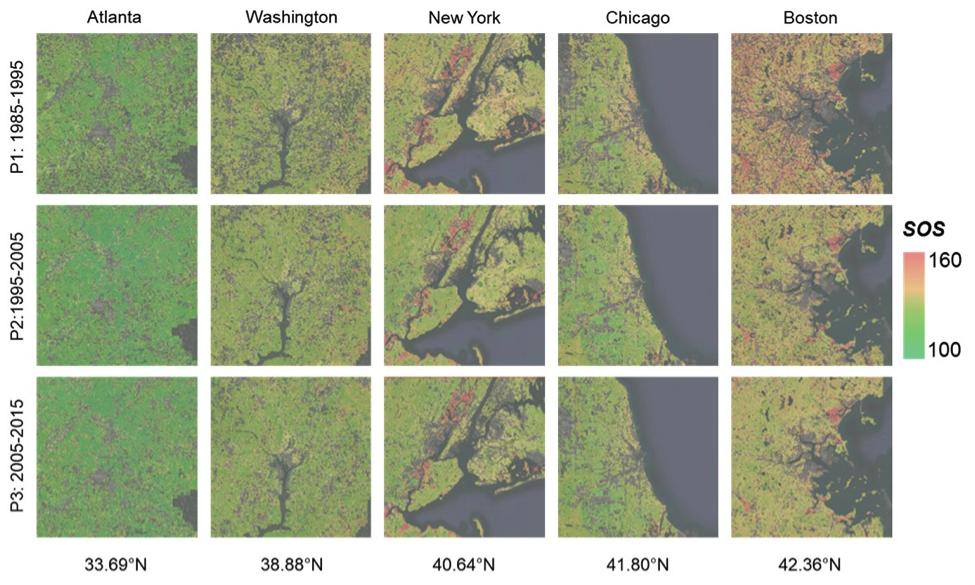 Landsat-based Start-of-Season image