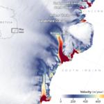 Antarctica velocity mapping