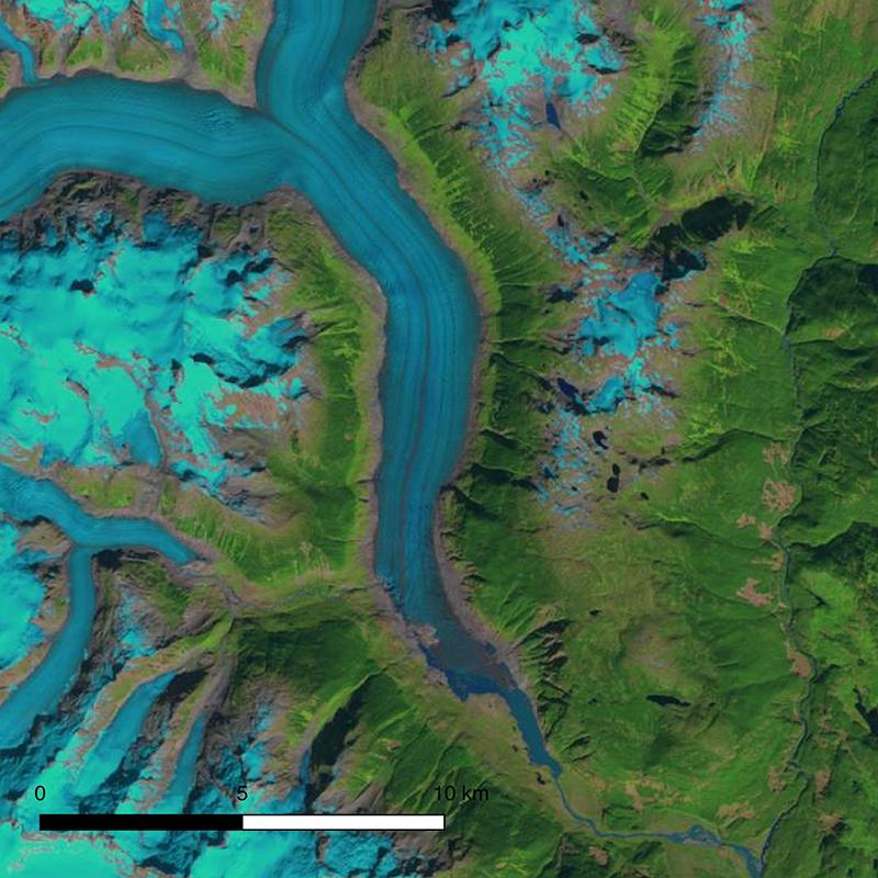 Klinaklini Glacier 2000