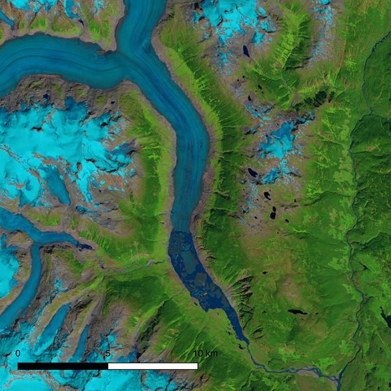 Klinaklini Glacier in 2018