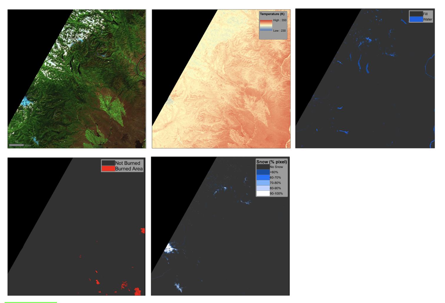 Landsat ARD tiles