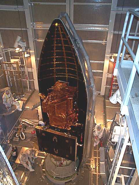 L7 in rocket fairing