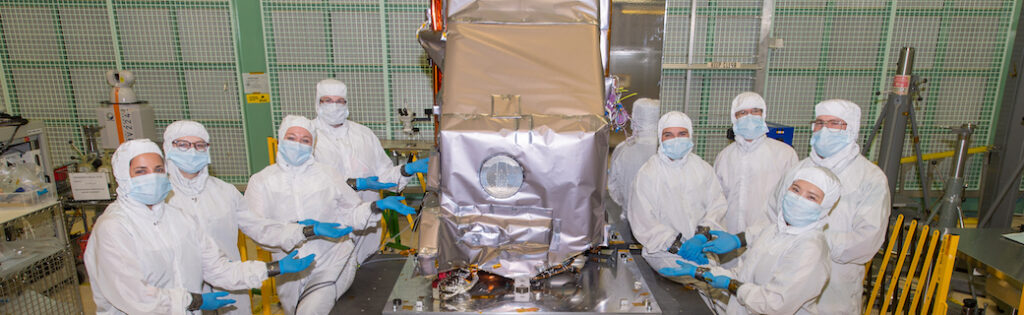 Engineers with TIRS-2