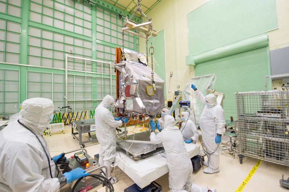 TIRS-2 in the cleanroom