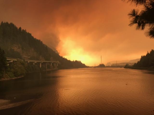 Eagle Creek Fire 2017