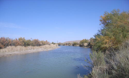 Pecos River in Roswell, NM