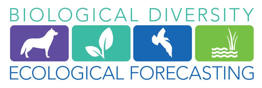 Biological Diversity Ecological Forecasting logo