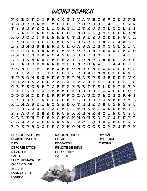 Landsat Word Search